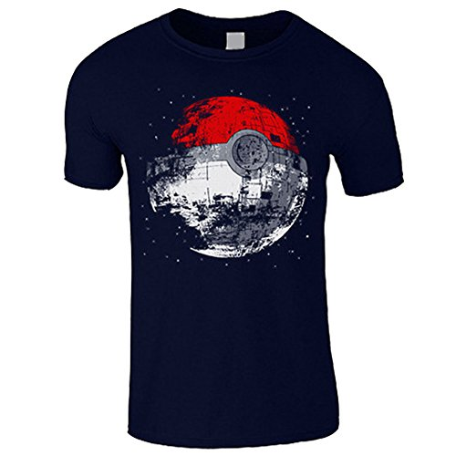 Hmamliel Men's Pokeball T-Shirt - Pokemon Star Wars Kids Mens Top
