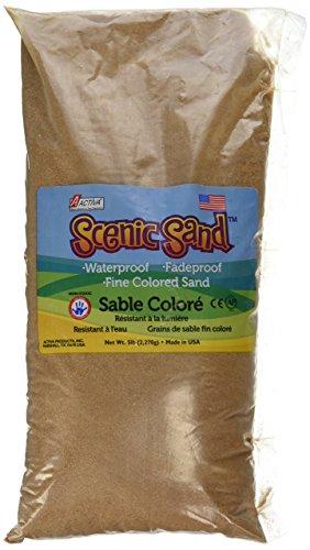 Activa Scenic Sand in Vivid Colors, Cocoa Brown