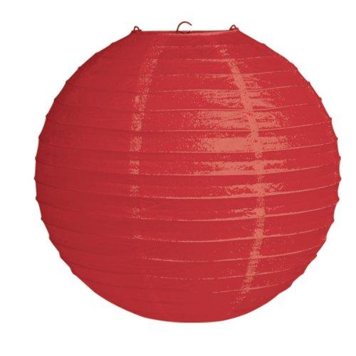 12-Round-Hanging-Paper-Lantern-Red