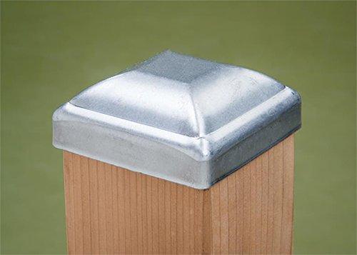 6 x 6 Heavy Dutyソリッドアルミニウム製ポストキャップ(メジャー5 – 1 / 2 x 5 – 1 / 2 in。)。。。 B06XX5MXQN 15655