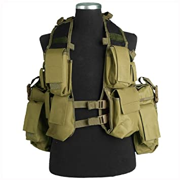 Army Tactical Patrol South African Assault Combat Vest Adjustable