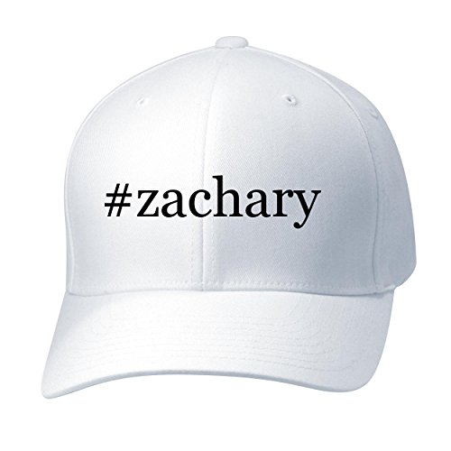 #Zachary - Baseball Hat Cap Adult, White, Small/Medium ()