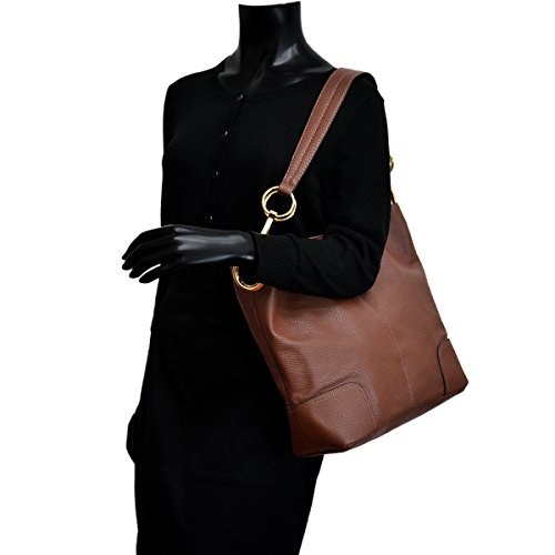MKP Bag~Beautiful Hobo Handbag~Fashion Shoulder Collection Tote Corner Coffee Classic 3108 Single Patched XT7XrZq