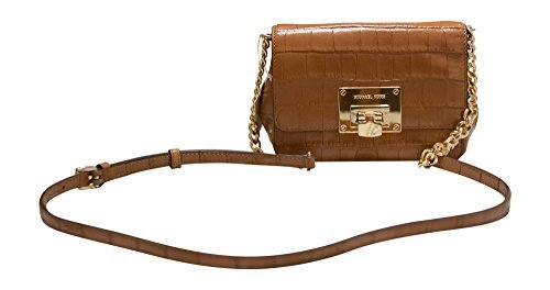 9dadc6050ef6 Galleon - Michael Kors Tina Small Embossed Leather Clutch