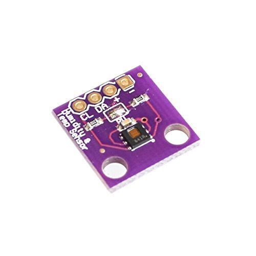 WINGONEER HDC1080 module Low Power, GY-213V-HDC1080 High Accuracy Digital Humidity Sensor with Temperature Sensor