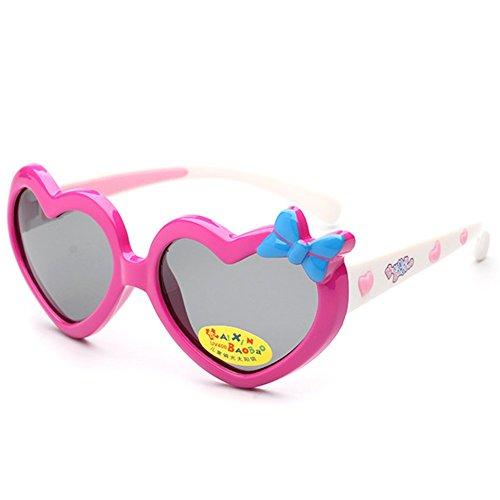 MosierBizne Children Cartoon Love Bow Silicone Sunglasses Men And Women - Love Sunglasses Heart Australia