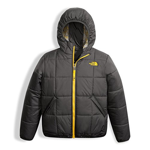The North Face Boys Reversible Perrito Jacket - Graphite Grey - M by The North Face
