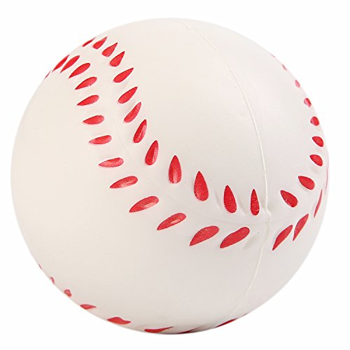 Vigeiya Squishies Baseball Squishy Slow Rising Toys for Kids Adults Prime Kawaii Decorations Scented Soft Stress ()