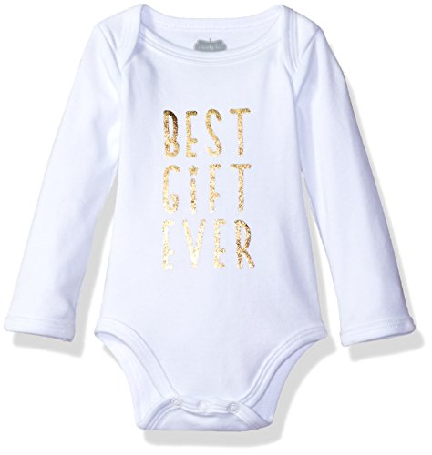 Pie Onesie (Mud Pie Girls' Holiday Christmas One Piece Crawler and Headband Two Piece Set, Best Gift Ever, 0-6)