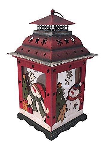 Amazon.com: Holiday linterna vela titular decorativo Pieza ...