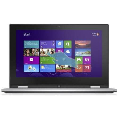 Dell i3147-10000sLV Inspiron 11.6 Touchscreen Laptop - Intel Pentium Processor N3540 - 4GB DDR3L 1600MHz - 500GB 5400rpm Hard Drive - Windows 8.1 (64Bit) English - Silver by Dell   B013PM3B6E