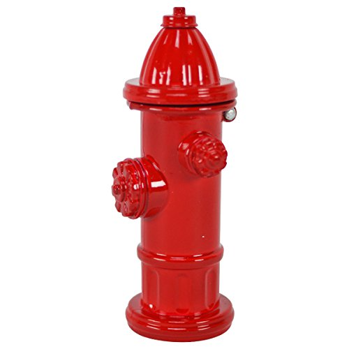 TG,LLC Red Fire Hydrant Miniature Die Cast Pencil Sharpener Firefighter Gift
