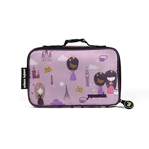 Urban Infant Yummie Lunch Bag with Allergy Alert Cards - Violet