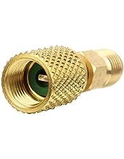 HVAC-slangconnector, R410A Rechte draaibare adapter R410A Airconditioneradapter Goede taaiheid Lange levensduur voor R410A-systemen voor HVAC(R410A buiten 1/4SAE binnen 5/16SAE)