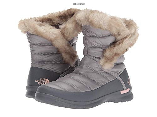 Frost Sand up W Face Season Button Shiny Chaussures Grey The past evening De Pink Marche Femme Thermoball North P6Ugqg