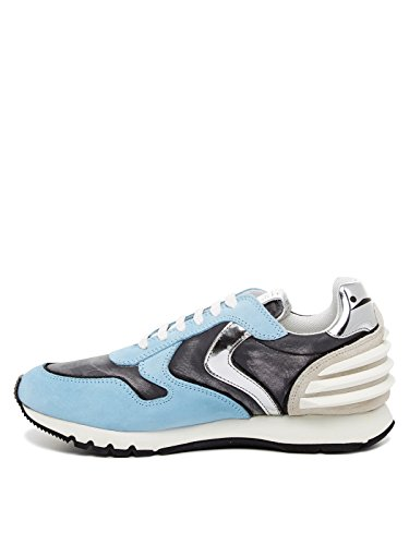Voile Blanche Damen Sneakers Julia Power bleu (50)