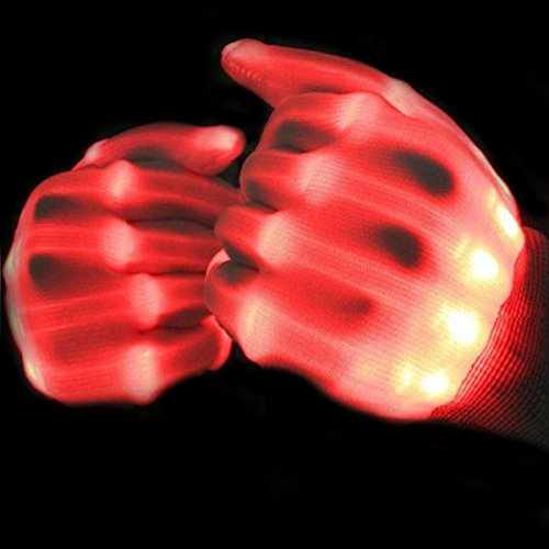 Autistic Toys for Boys Girls Teens, TOP Toy Flashing LED Gloves Gifts Toys for 3-12 Year Old Boys (Do It Your Own Halloween Costume)