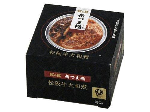 K&K 缶つま極 松阪牛大和煮 EO缶 携帯缶 ×12
