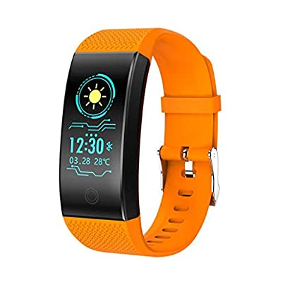 DMMDHR Smart Wristband Heart Rate Monitor Waterproof Fitness Pedometer Bracelet Measurement Pressure and Pulse Activity Tracker Estimated Price £36.20 -