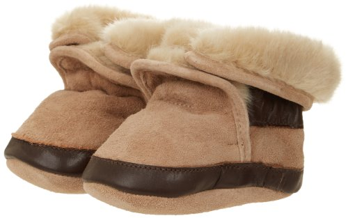 Baby Shearling Boots - Robeez Cozy TP Crib Shoe (Infant/Toddler),Taupe,12-18 Months M US Infant