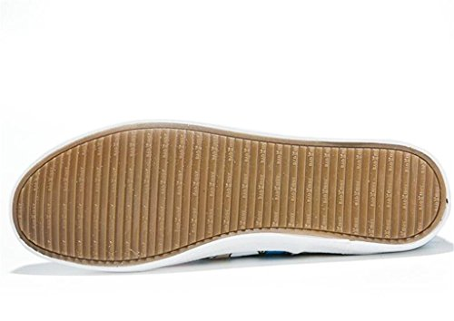 Daily Flat 35 Stampa Lady Xie Shopping White Bottom Leisure Confortevole Studenti White Shoes Canvas Scarpe 37 Set Piedi Graffiti Ug6nnt