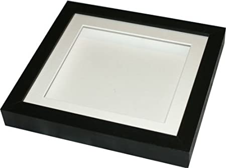 CD case display frame. Deep black frame for display of CD jewel ...