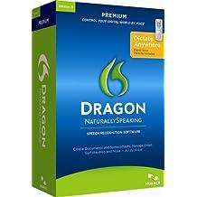 Dragon Naturally Speaking Premium 11, English, with Recorder