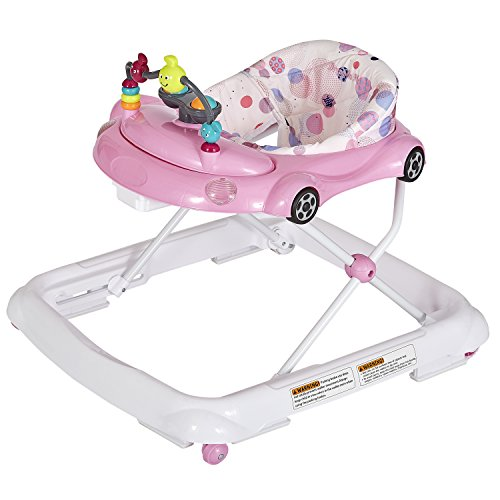 Dream On Me On-The-Go Activity Walker, Light Pink