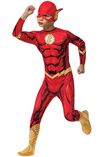 Girl Flash Costumes (Rubies DC Universe Flash Costume, Child Medium)