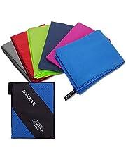 Mikrofaser Handtücher, Zoegate S XL XXL Mikrofaserhandtuch Reisehandtuch perfekte Sporthandtuch, Microfaser Badetuch Strandhandtuch, Sauna Reinigungstuch Schnelltrocknend