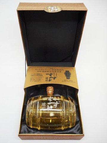 銀座のすずめ琥珀 樽型ボトル 900ml 【大分県 八鹿酒造】