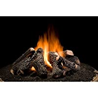 Wilderness Oak 8 Piece Firepit Log set -...