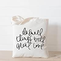 Tote Bag, Do Small Things With Great Love, Handmade in the USA, present, housewarming gift, wedding favor, bridesmaid gift, women's gift
