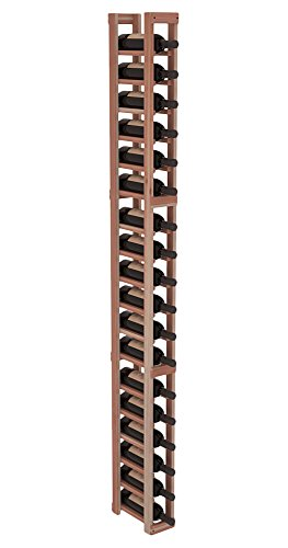 Wine Racks America Redwood 1 Column Wine Cellar Kit. 13 Stains to Choose From!