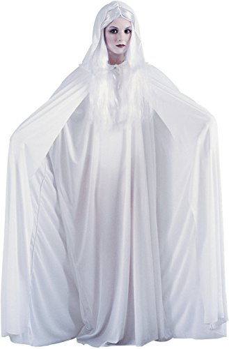 (White Hooded Cape)