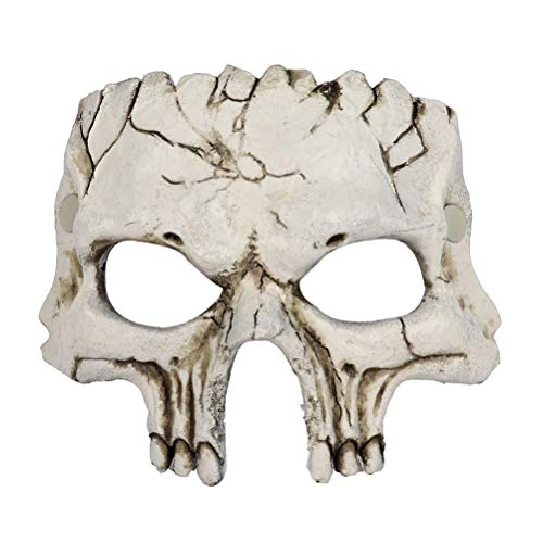 (PU Material Halloween Party Horror Skull Shape Decoration Use)