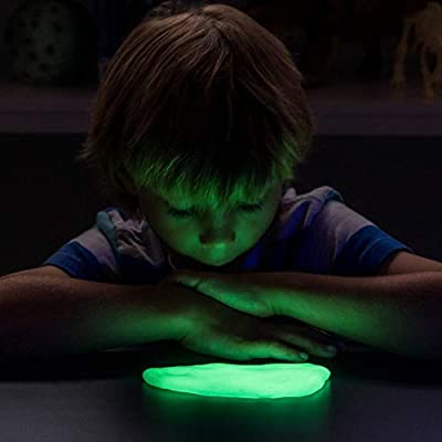 NATIONAL GEOGRAPHIC Slime DIY Science Lab – Make Gooey Glowing Slime (Green): Toys & Games
