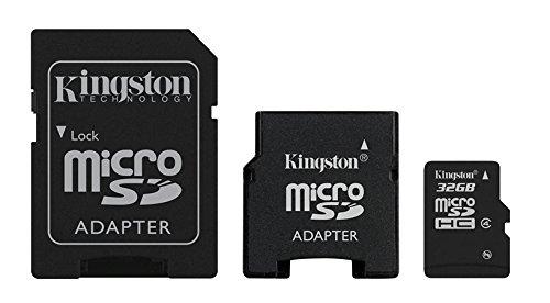 Kingston Digital, Inc. 32 GB Flash Memory Card SDC4/32GB-2ADP