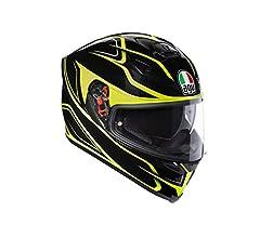 AGV Casco Moto integral K-5/S E2205/Multi plk Magnitude Negro//Rojo talla XL