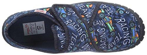 Superfit Bill - Zapatilla de estar por casa Niños Azul - Blau (Ocean Multi 82)