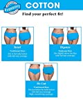 Fruit of the Loom Women's Tag Free Cotton Panties