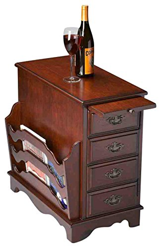 BUTLER 7038024 GREGORY PLANTATION CHERRY MAGAZINE TABLE