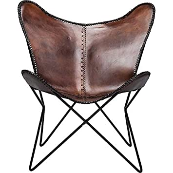 Freudenhaus Kare Vintage Sessel Butterfly Eco Leder Amazonde
