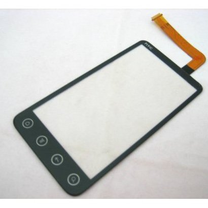 TOOGOO(R) Touch Screen Digitizer Front Glass Faceplate Lens Part Panel For HTC EVO 3D Sprint ~ Mobile Phone Repair Parts Replacement