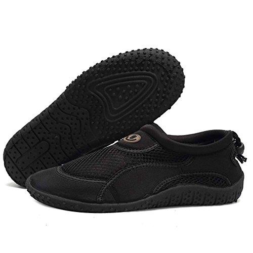 Shoes Swim Women 1black Shoes Aqua CIOR Sports Surf for Pool Drying Boating Beach Quick Men 1 and Water EwaqSaR6xz