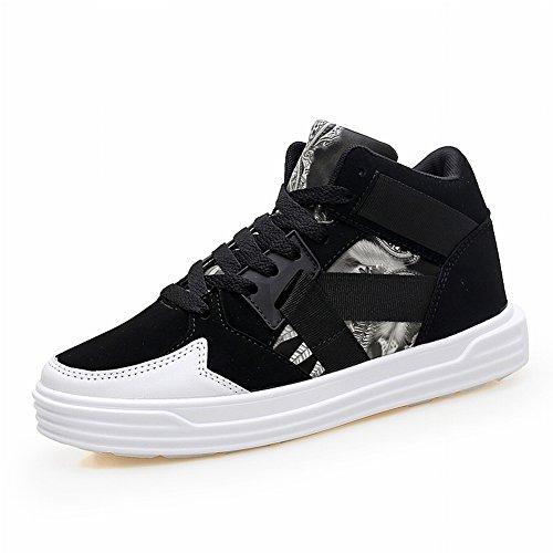 De Blanc 37 Eur Haute Occasionnelles Chaussures Couples Grands Pour Noir Rue Sport Couple Aider Les Chantiers Haut q6H4pI