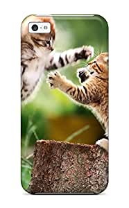 8669553K39425725 Awesome Case Cover/iphone 5c Defender Case Cover(cat)