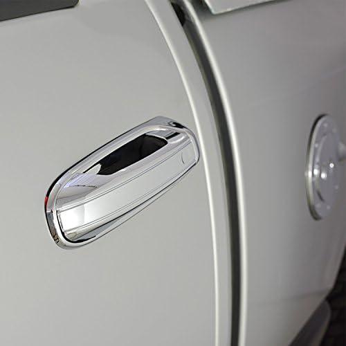 05-10 Dodge Durango Chrome Triple Plated ABS 4 Door Handle W//PSG Keyhole Cover