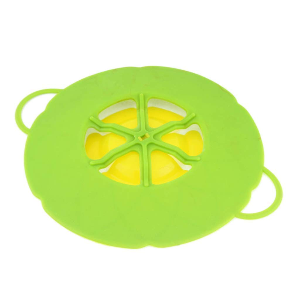 Boil Over Safeguard Spill Stopper Lid Cover Regalo di Natale per lamante della cucina Genitori Silicone Spill Stopper Pot Pan Lid Multi -Function Cooking Tool Kitchen Gadgets