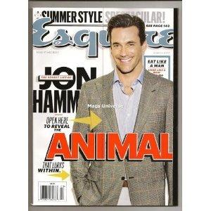 Esquire Magazine (March, 2012) Jon Hamm, Kate Upton - Hamm Style Jon